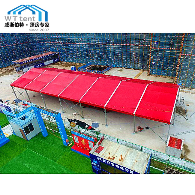 Red Roof Outdoor Wedding Tent A Shape Tent Aluminum ...